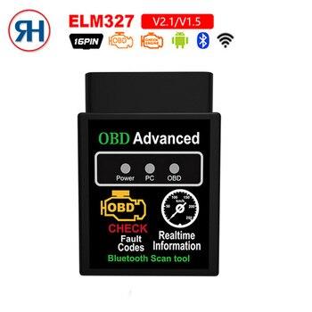 OBD2 Super MINI hhobd ELM327 Bluetooth V2 1V1 5 OBD2 Car Diagnostic