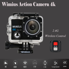 Wimius Q3 4K wifi Action Camera Full HD 1080P fps 16Mp Sport Mini Video Camcorder Go Waterproof pro+2.4G Wireless Remote Control