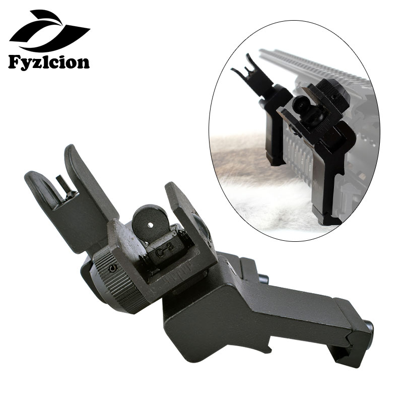 Front Rear Iron Sight Flip Up 45 Degree Offset Transition Wrench Rts Sights Ar