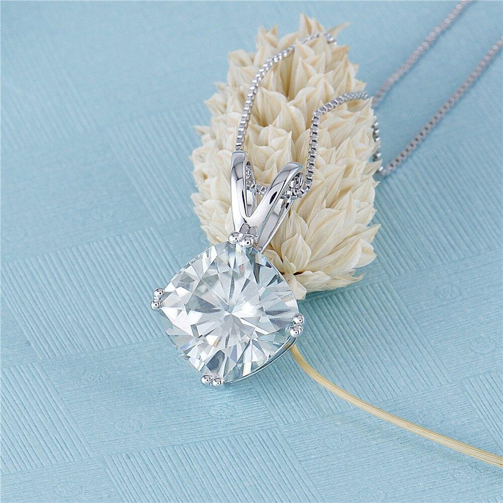 moissanite pendant- silver necklace (6)
