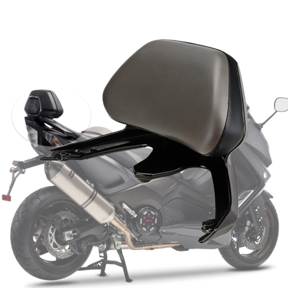 KEMiMOTO Acessórios Da Motocicleta encosto Para YAMAHA TMAX T-MAX T MAX 530 2012 2015 TMAX530 Encosto Do Passageiro Ficar 2012- 2016