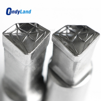 CandyLand Diamond Milk Tablet Die 3D Pill Press Mold Candy Punching Die Custom Logo Calcium Tablet Punch Die For TDP5 Machine