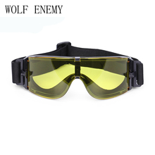 X800 Military Goggles, Ballistic Lenses Tactical Bulletproof, Army Sung