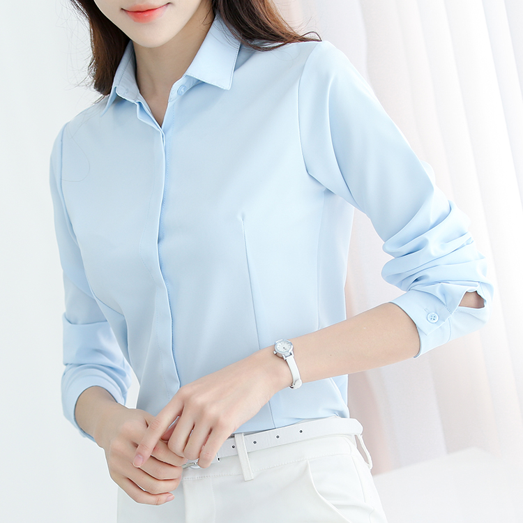Mal trabajo mujer camisas manga completa delgado render clothing han fan traje d