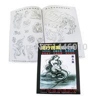 Crazy Tattoo Boeken Hot Koop Populaire Tattoo Flash Boek VOL.6 Voor Tattoo Art Levert Gratis Verzending