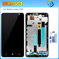 Replacement full screen for Nokia Lumia 1320 lcd display with touch digitizer glass with frame assembly black color +free tools