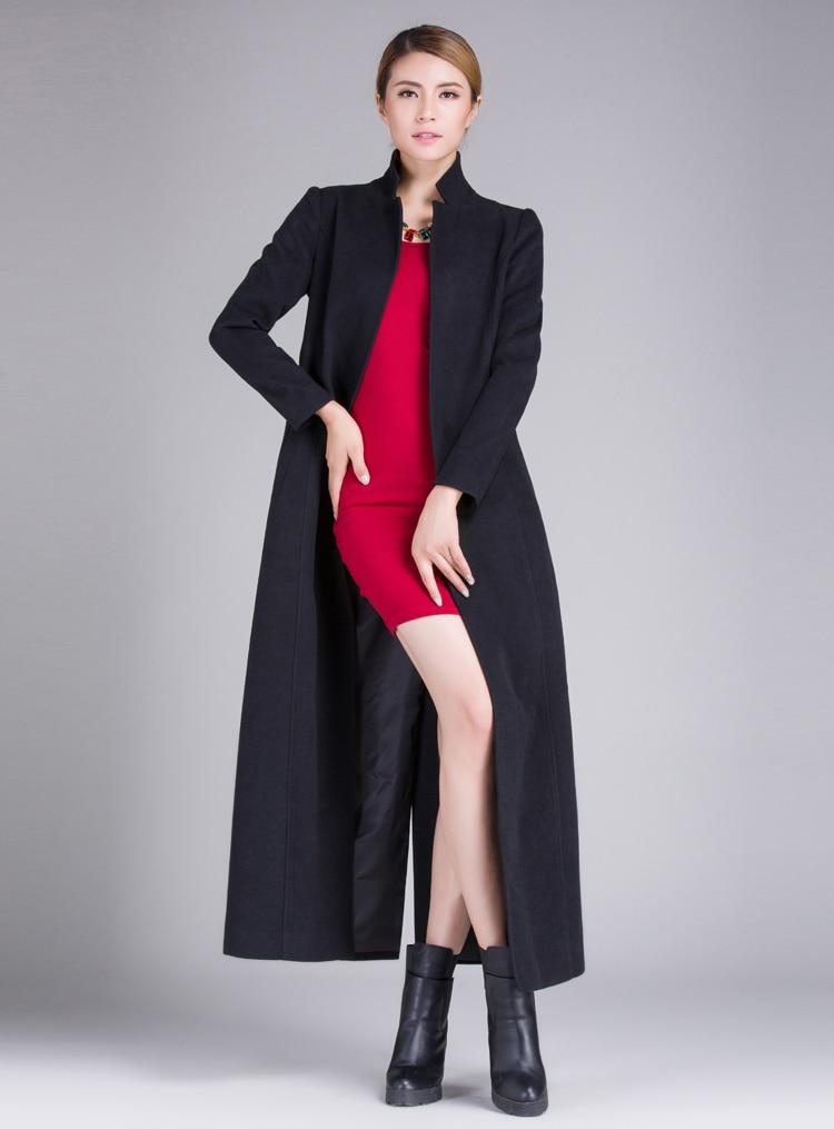 Solide De Produits Chaud Grande Long Manteau Couleur Cachemire 2019new Mince Femmes Taille 4SqZ0wX