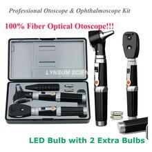 2 в 1, Новый светодиодный ный диагностический медицинский офтальмоскоп