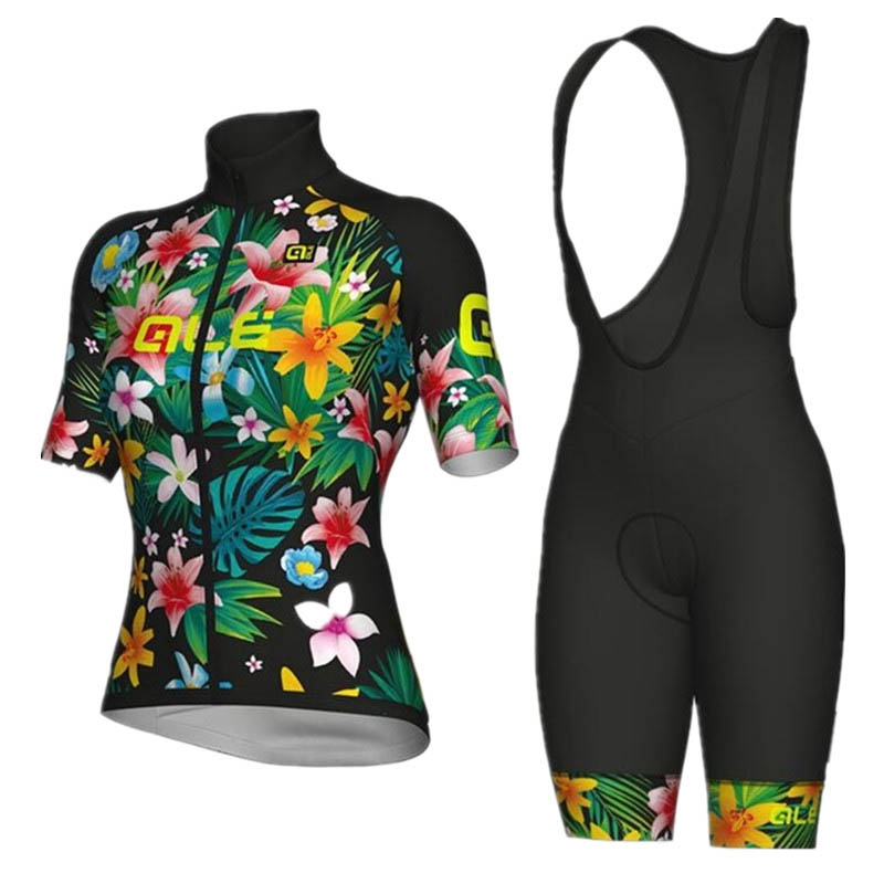2018 ALE Cycling Jersey women cycling clothing set breathable bike jerseys bicycle Mountain wear sport clothes Maillot Ciclismo