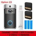 Умный ip-видеодомофон  видеодомофон  видеодомофон  дверной звонок  WIFI  для домашней сигнализации  беспроводной дверной звонок  камера безопа...