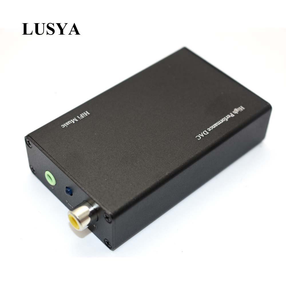 Lusya Pcm2706 Usb Dac Decoder Usb Zu Coaxial Faser 3,5mm Kopfhörer Ausgang G7-007 Tragbares Audio & Video