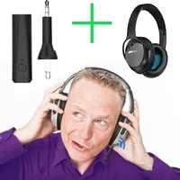 Receptor inalámbrico Adaptador de audio estéreo Bluetooth 5,0 para Bose QuietComfort 25 35 QC25 QC35 auriculares de cancelación de ruido acústico