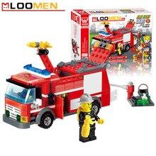 Перестрелка строительного кирпича просвещения строительные блоки образовательные грузовик комплекты детский шт./компл.