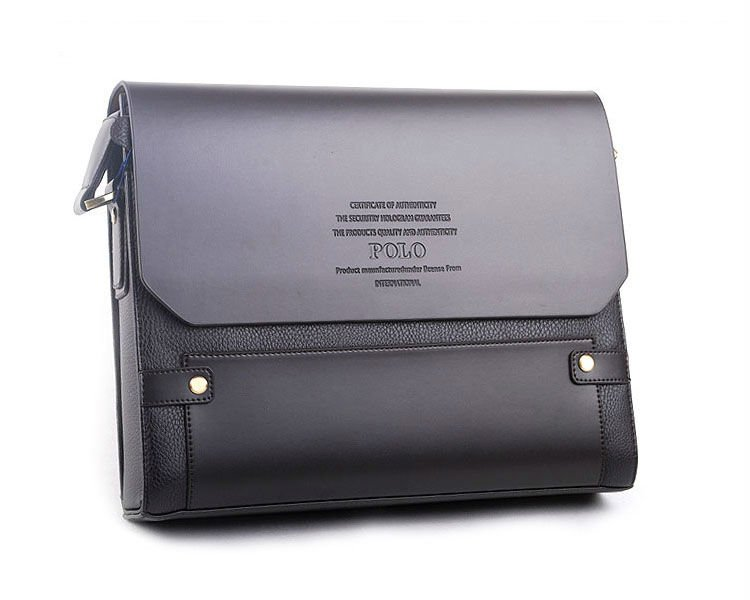 Hot sale fashion brand leather briefcase, POLO VIDENG ...