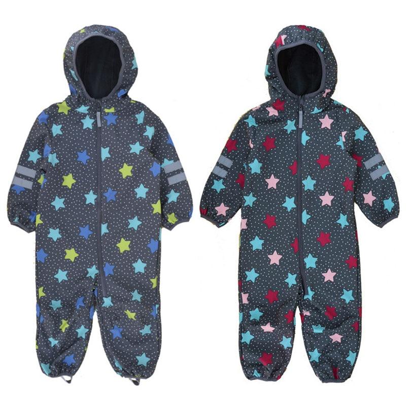 Купить foreign trade children's soft shell pants outdoor siamese