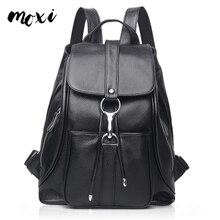 MOXI женский рюкзак из натуральной кожи, повседневный рюкзак из натуральной воловьей кожи, женский рюкзак для отдыха, школьная сумка для девушек, Студенческая сумка на плечо