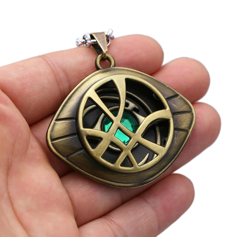 Marvel Avengers docteur étrange infini temps pierres collier porte-clés Figure modèle jouets