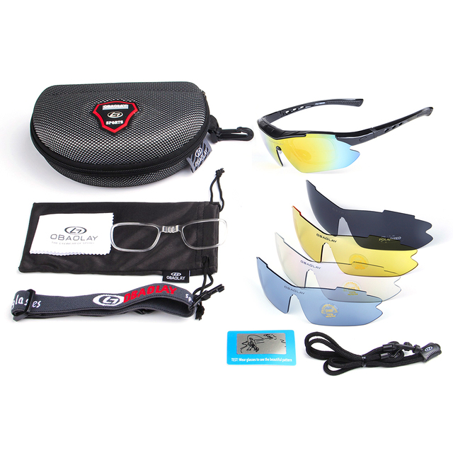 b84ebb6970 Polarized Cycling Glasses Outdoor Bicycle Sunglasses Motor Bike Reflective  UV Protection Goggles 4 Lenses Eyewear Gafas