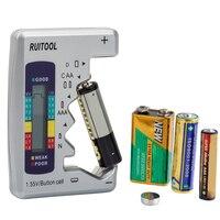 Мини бытовой цифровой тестер емкости батареи C/D/9 V/AA/AAA/1,5 V литиевая батарея источник питания измерительный прибор