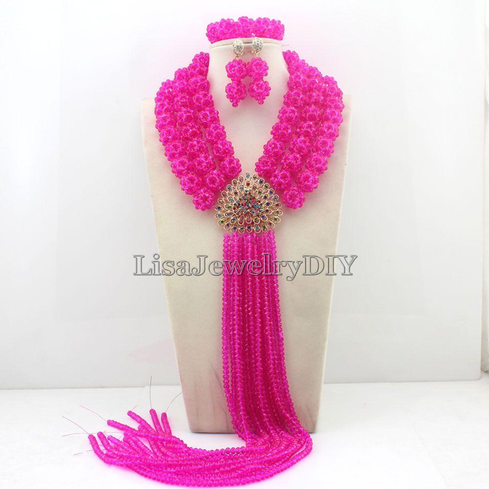 Charming African Beads Jewelry Sets Nigerian Wedding Bridal Beads Necklace Earrings Jewelry Sets HD4667 электрический чайник philips hd4667 hd4667