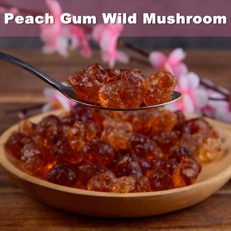 Wild Natural Tao Jiao Peach Resin Gum Jelly Food Grade Gum Jelly