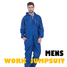 Mens Coverall Work Clothing Repairman Jumpsuits Trousers Working Uniforms Workwear Coveralls Plus Size Long Sleevel Coveralls