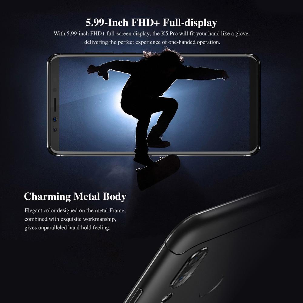 Global Version Lenovo K5 Pro 4GB 64GB Snapdragon636 Octa Core Smartphone Four Cameras 5.99inch 189  4G LTE Phones 4050mAh (10)