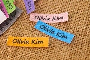 Image 3 - 160 nach etiketten, nach kleidung etiketten, name etiketten, bügeln etiketten, Nach farbe (TB295)