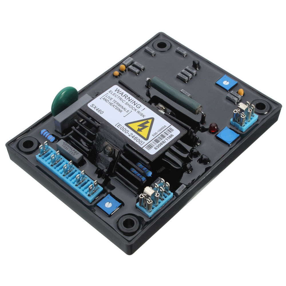 AVR SX460 new Black Automatic Voltage Regulator AVR SX 460 blue capacity+free shipping(TNT,FEDEX,DHL...) avr sx460 new black automatic voltage regulator avr sx 460 blue capacity free shipping tnt fedex dhl