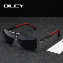 OLEY Brand Classic Men Aluminum Sunglasses Polarized Women For Oculos de sol