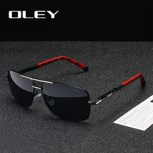 OLEY Brand Classic Men Aluminum Sunglasses Polarized Women F