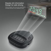 Suitable for All Car Electronic Windshield Projector Digital GPS Speedometer HUD Car Speed Projector A1 Head Up Display