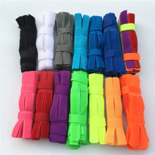 50pcs 2*18cm Colorful Magic Tape Wiring Harness tapes Cable Tie Cord Computer Cable Winder Cable Ties Hook Loop Fastener Tape