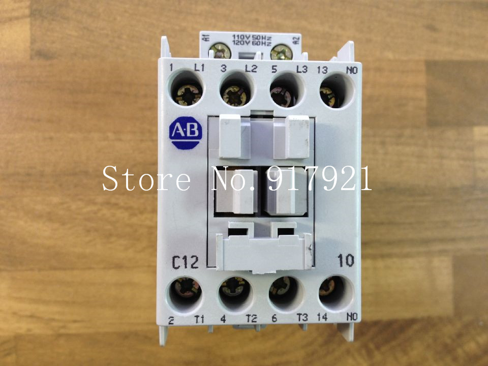 [ZOB] The United States Allen-Bradley Rockwell AB 100C12*10 110V genuine original contactor  --2pcs/lot the united states o 1 48 ratio lionel train model yuan bao genuine 6 27852