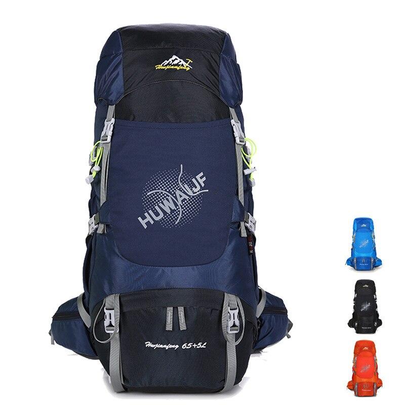 70L Waterproof Backpack Outdoor Sports Bag Hiking Backpacks Travel Bag Camping Climbing Trekking Nylon Rucksack Men