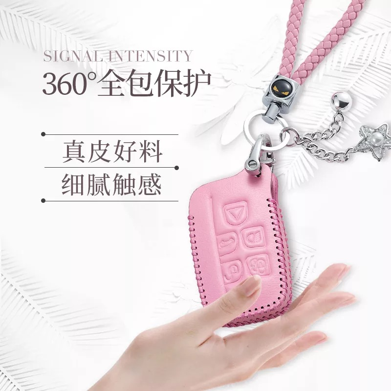 Abs Smart Remote Key Case Ring Shell Holder Cover For: Carbon Fiber Look Smart Remote Key Fob Case Bag Shell