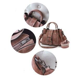 Image 3 - Bolso cruzado de lujo para mujer, PU de cuero de bandolera de bolso de hombro, informal
