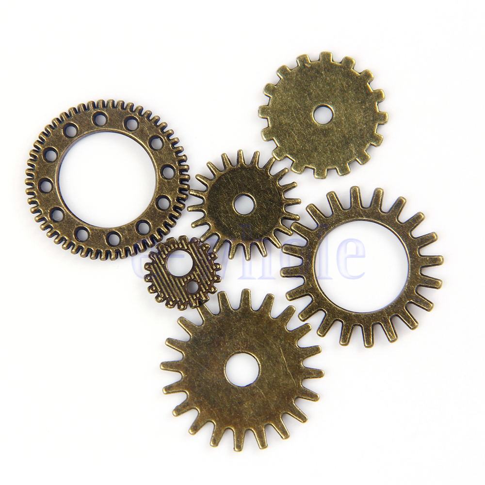Antique Wheels And Gears : Aliexpress buy pcs vintage steampunk watch parts