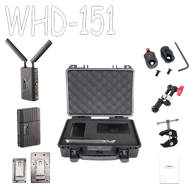 SEETEC WHD151 HDMI/SDI 150 m/500ft 5 GHz Wireless Sistema di Trasmissione 3G 1080 P Video HD TV Broadcast Trasmettitore e Ricevitore
