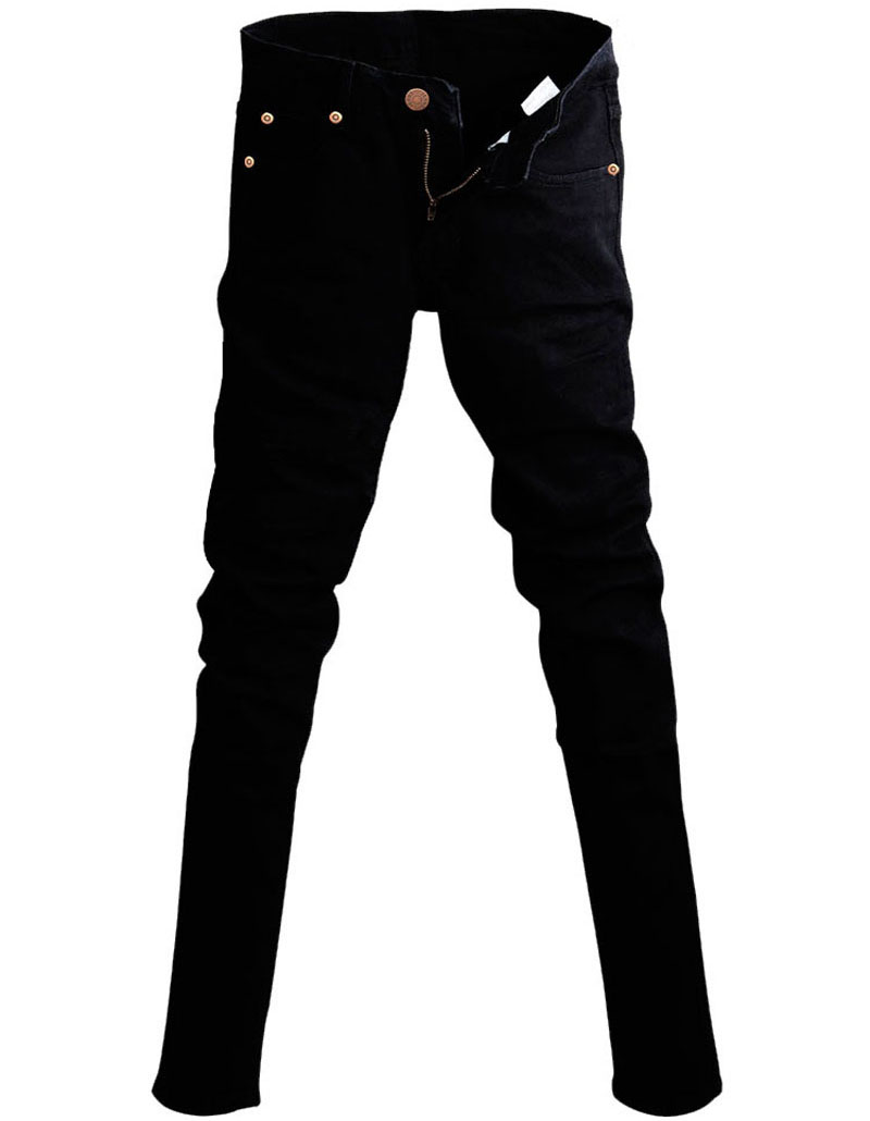 Cool Black Jeans - Jeans Am