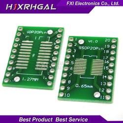 10 шт TSSOP20 SSOP20 SOP20 к DIP20 передачи доска DIP-контактный Board шаг адаптер igmopnrq
