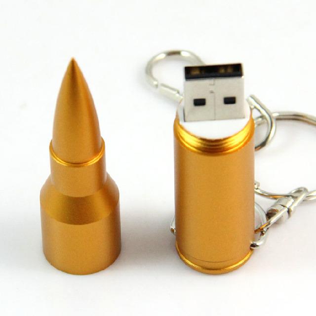 Bullet Shape USB Flash Drives  USB 2.0 High Speed 64GB 32GB 16GB 8GB 4G