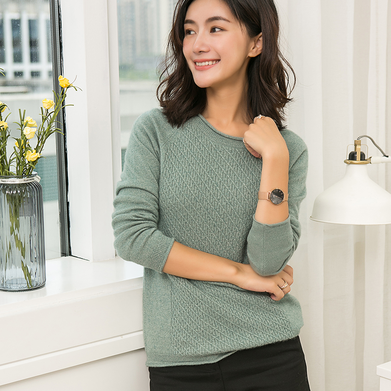 High Quality 100 Pure Cashmere Women Sweaters And Pullovers Soft Warm Cashmere Jumper Round Neck Knitted