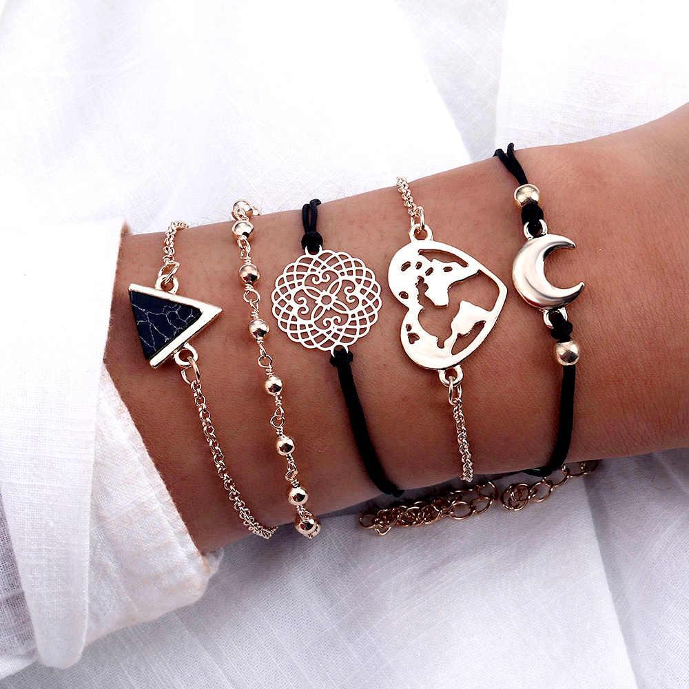 AILEND винтажный браслет женский модный браслет выбор подарка Прямая доставка браслет Бохо девушка браслет с надписью вечерние 2019