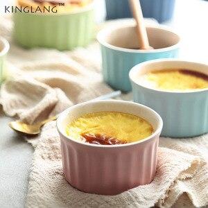 Керамическая чашка для выпекания, мини-форма, специальная печь, миска для выпекания