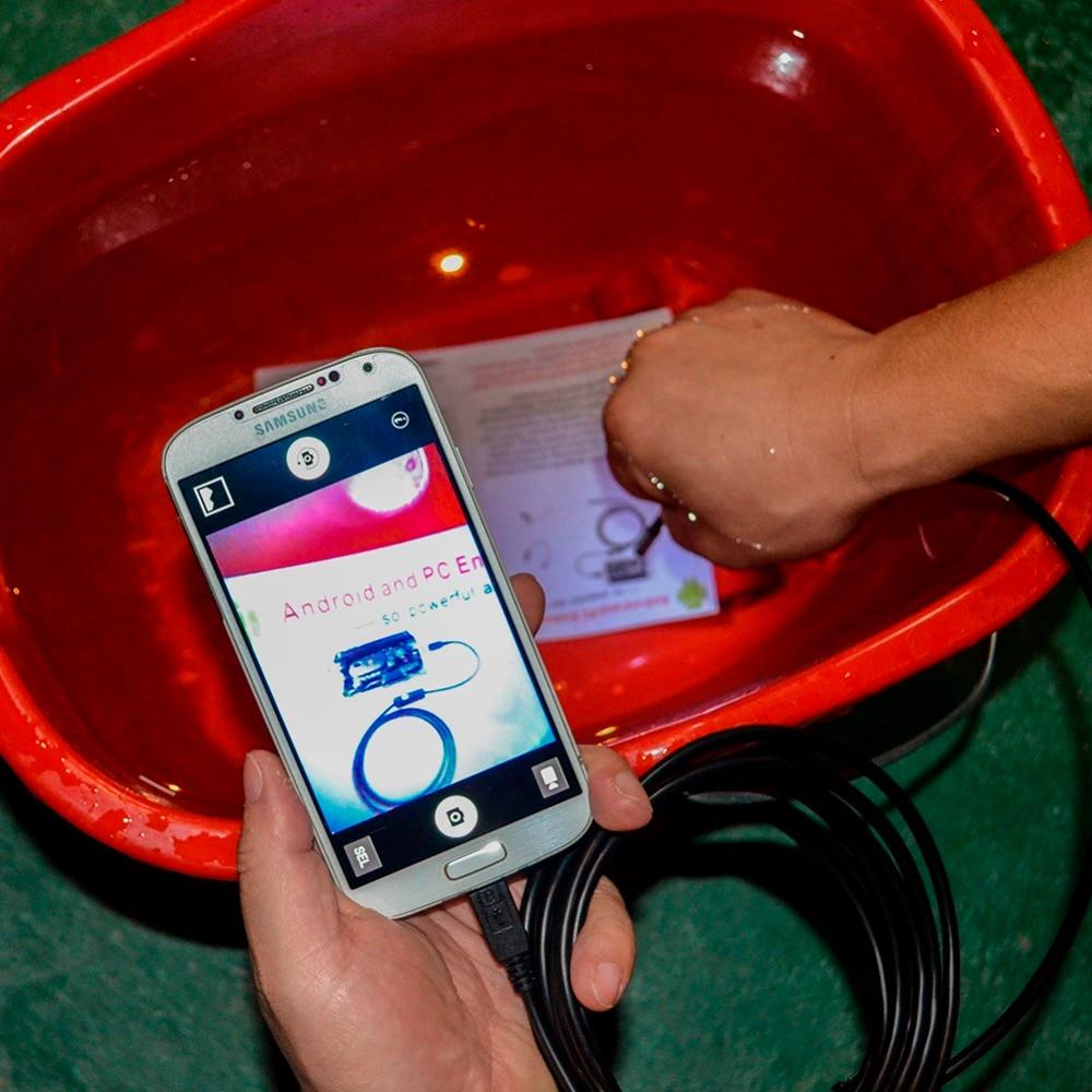 1M/3M/5M Endoscope 5.5mm Micro USB Endoscope Borescope Waterproof Android Phone Windows 7/8/10 Laptop Inspection Snake Camera смартфон с windows phone 7