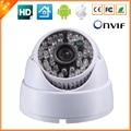Hd 1280 * 720 P 1.0MP Indoor Dome IP câmera de segurança CCTV vigilância ONVIF 2.0 P2P IP Cam IR Cut filtro lente Megapixel 48LED
