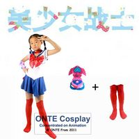 Super Sailor Moon Cosplay Costume Set Usagi Sailor Jupiter Kids Dress Venus Kostuum Halloween For Kids