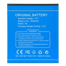 Bateria para DOOGEE originais X5/X5 Pro 2400 mAh Bateria para DOOGEE X5/x5 Pro Substituição Smartphone