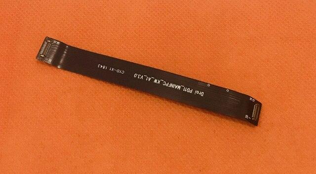 Verwendet Original USB Ladegerät Bord zu MOtherboard FPC für UMIDIGI One Pro Helio P23 Octa Core Kostenloser versand